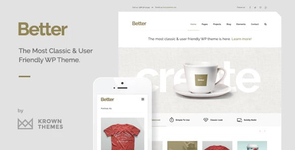 Better - 36+ Awesome Minimalist WordPress Themes [year]