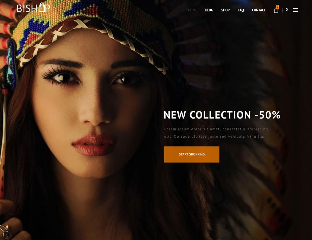 BiShop - 36+ Top WordPress Themes For Ecommerce [year]