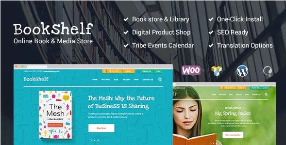 Bookshelf-1 - 36+ Nice Bookstore WordPress Themes [year]