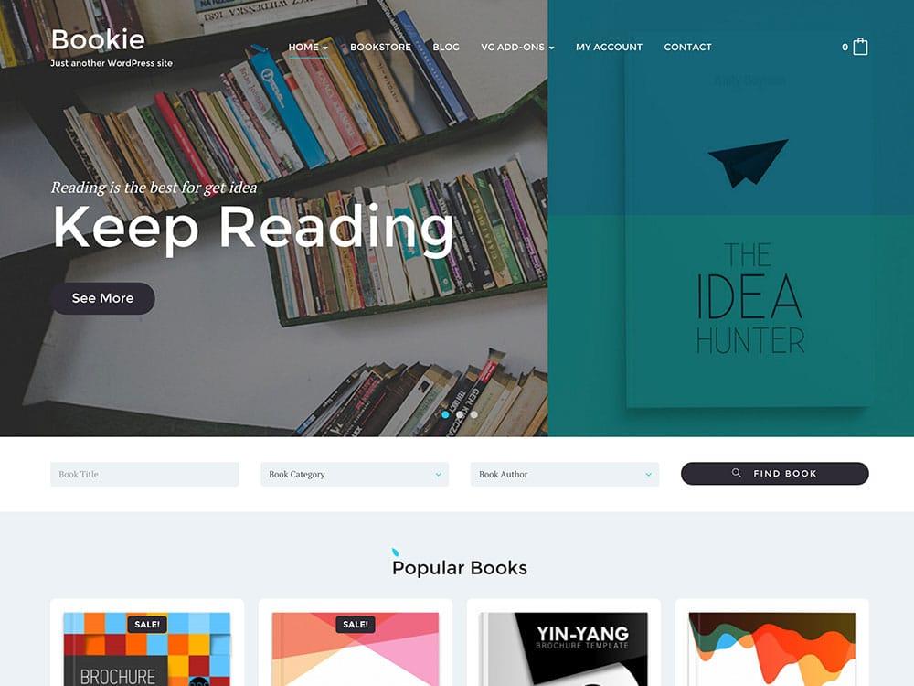 Bookstore-WordPress-Themes - 36+ Nice Bookstore WordPress Themes [year]