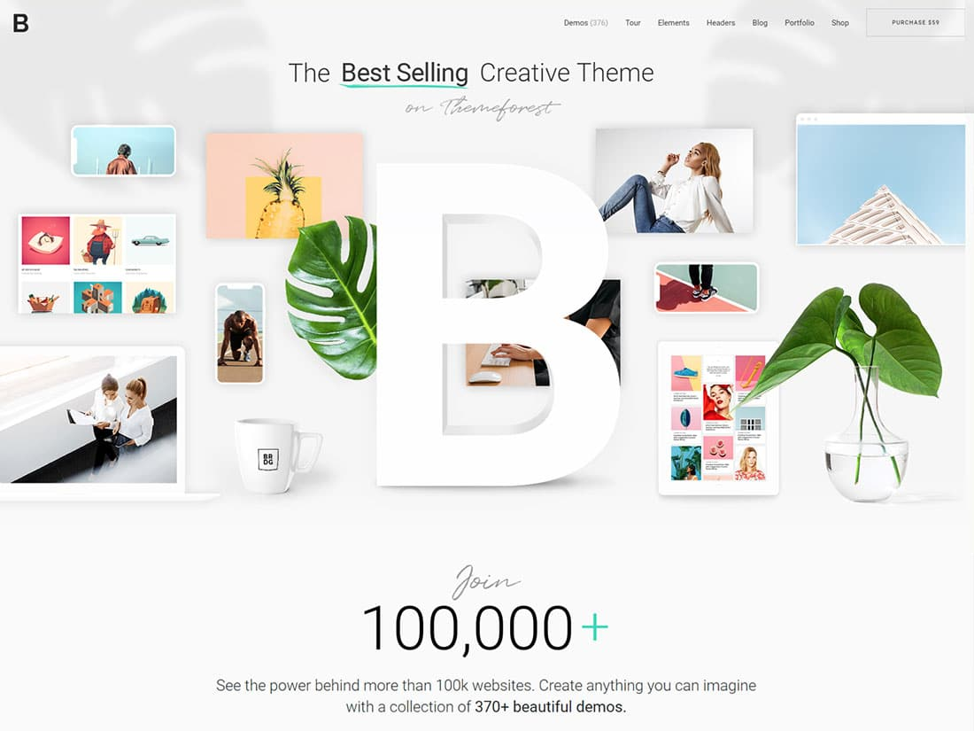 Bridge-1 - 31+ Amazing WordPress Themes For Creative [year]