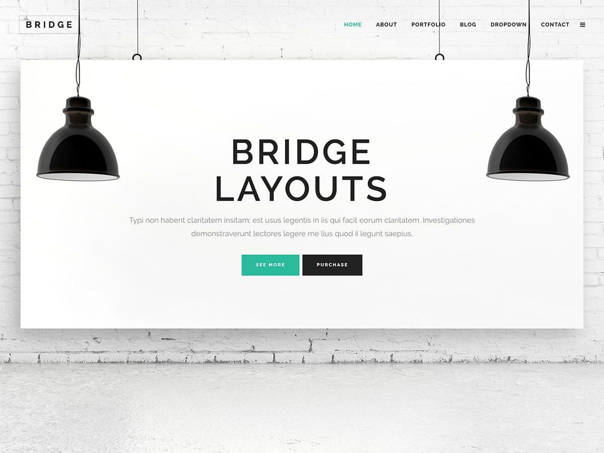 Bridge-4 - 60+ Nice WordPress Themes For Business [year]