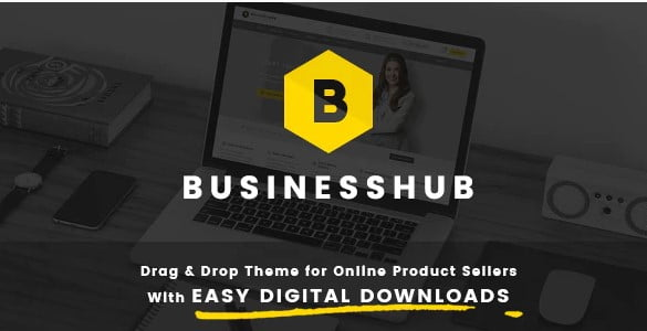 Business-Hub - 36+ Awesome WordPress Digital Products Selling Themes [year]