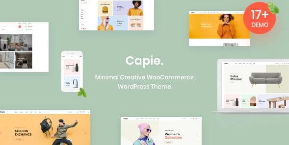 Capie - 36+ Nice Bookstore WordPress Themes [year]