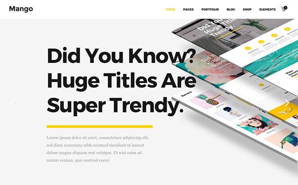 Capri-1 - 35+ Nice WordPress Themes For Multipurpose [year]