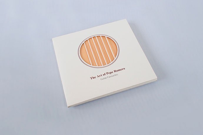 Cd-Packaging-the-Art-Of-Pepe-Romero - 35+ Awesome Die Cut Packaging Designs Template [year]