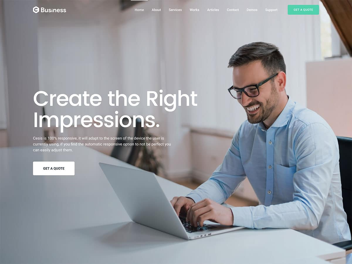 Cesis - 36+ Top Quality WordPress Themes For Business [year]