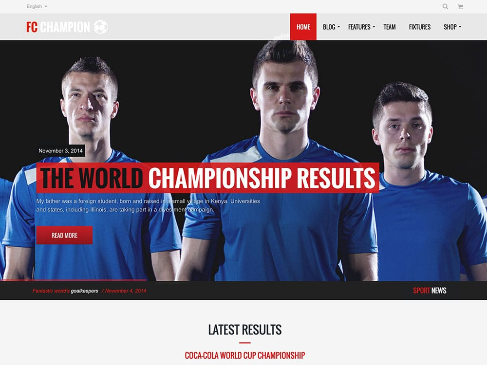 Champion-1 - 31+ Nice WordPress Themes For Sports [year]