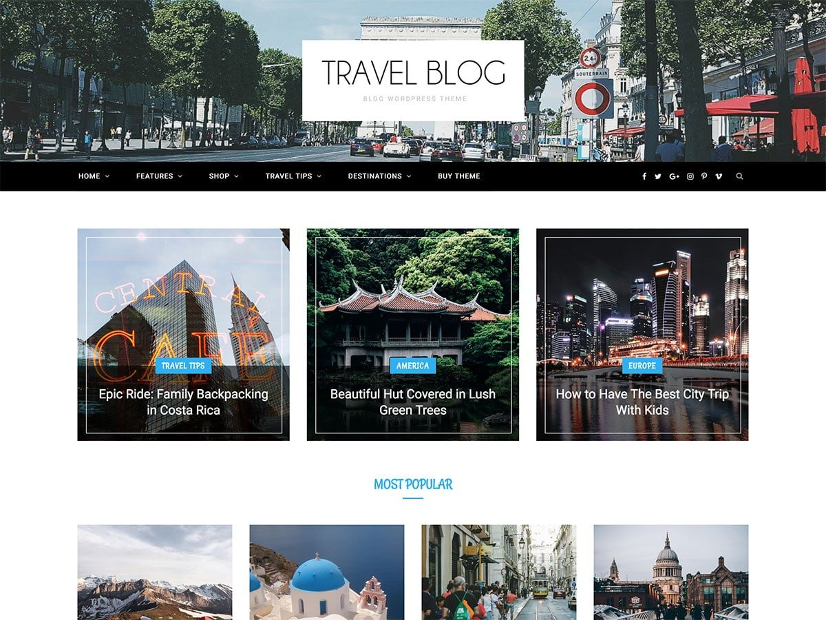 CheerUp-1 - 30+ Awesome Travel Blog WordPress Themes [year]