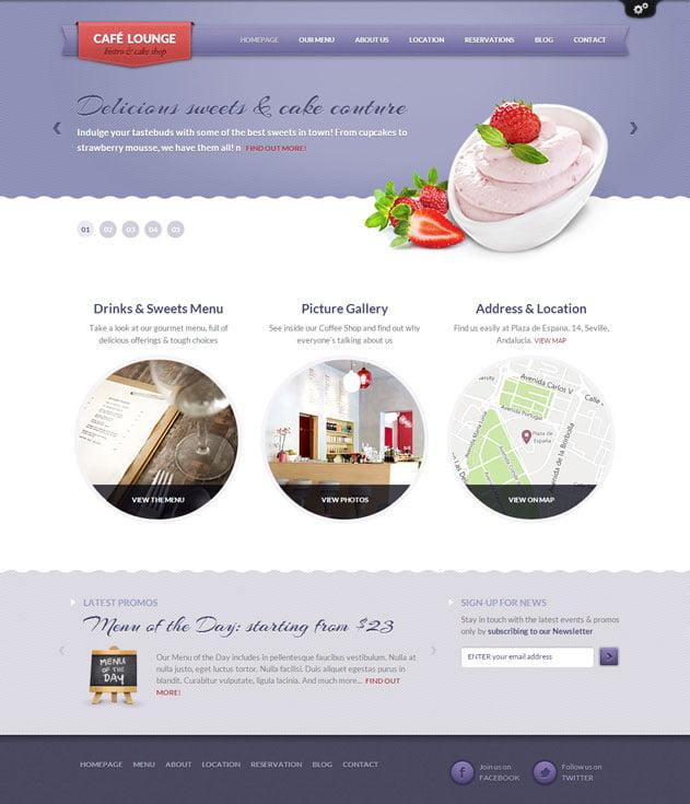 Coffee-Lounge-1 - 30+ Amazing Bakeries WordPress Themes [year]