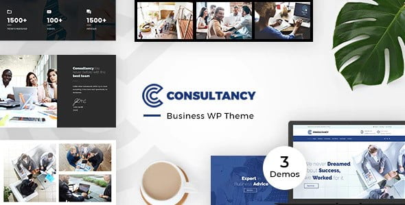 Consultancy-Business - 36+ Amazing WordPress Insurance Themes [year]