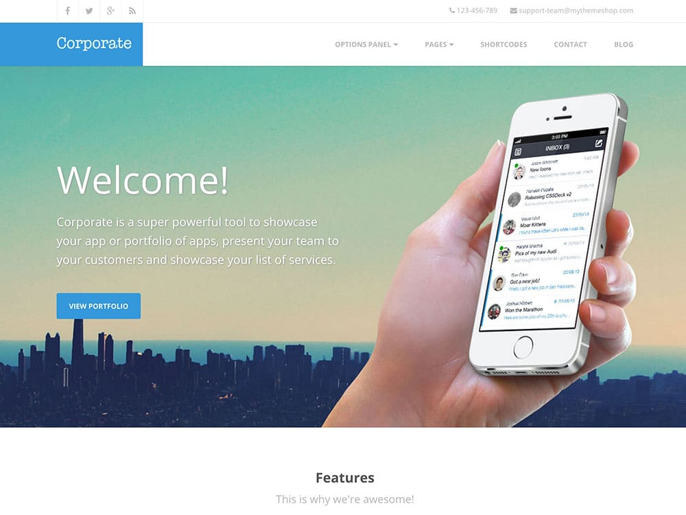 Corporate-1 - 60+ Nice WordPress Themes For Business [year]