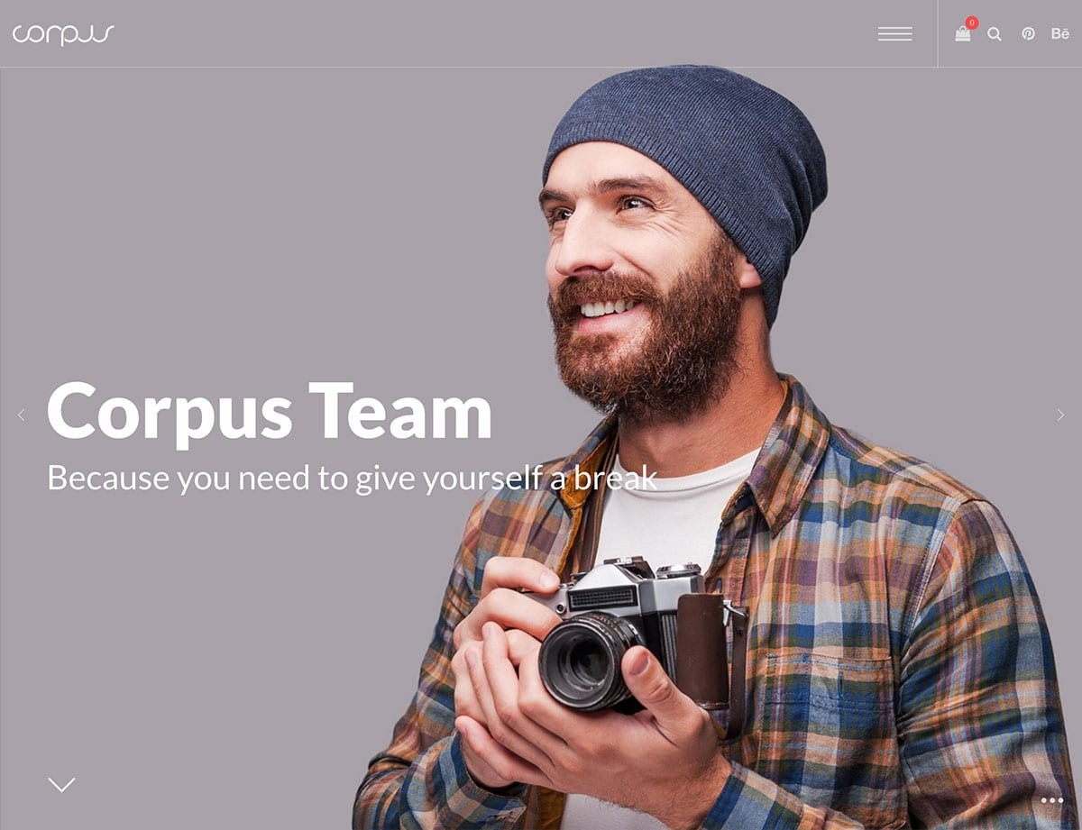 Corpus-1 - 60+ Nice WordPress Themes For Business [year]