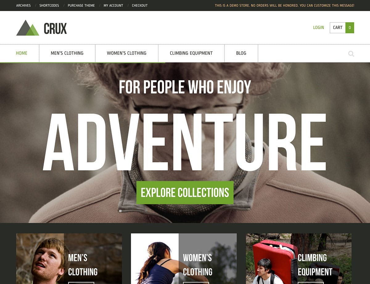 Crux - 36+ Top WordPress Themes For Ecommerce [year]