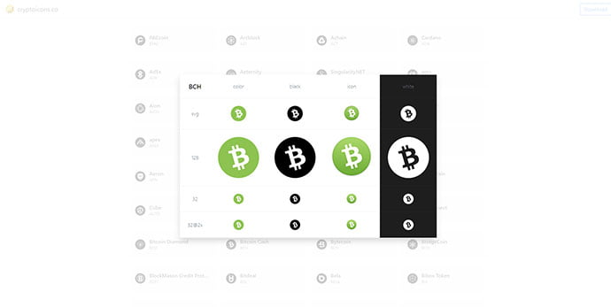 Cryptocurrency-Icons - 35+ Awesome Free E-Commerce Icon Sets [year]