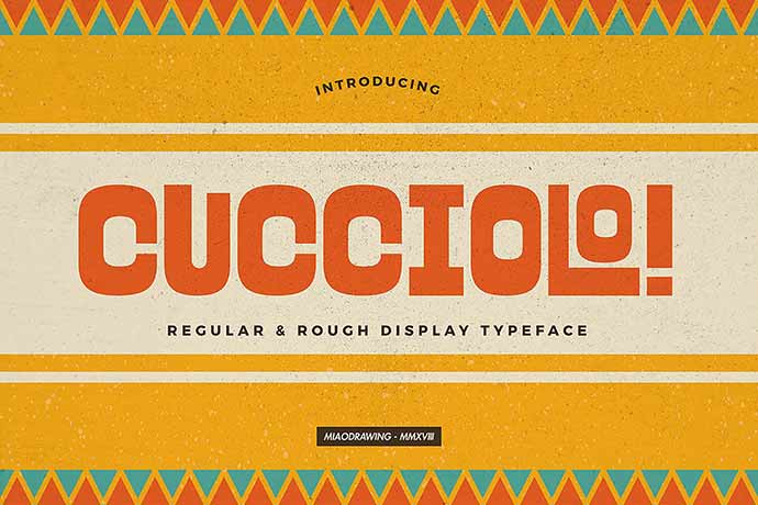 Cucciolo-Typeface - 31+ Amazing Game Title Fonts For Developer [year]