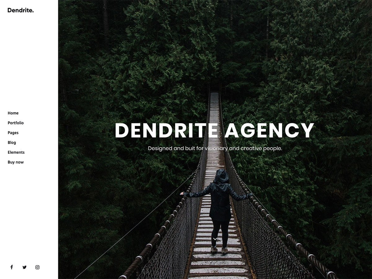 Dendrite - 40+ Awesome WordPress Themes For Creative Agency [year]