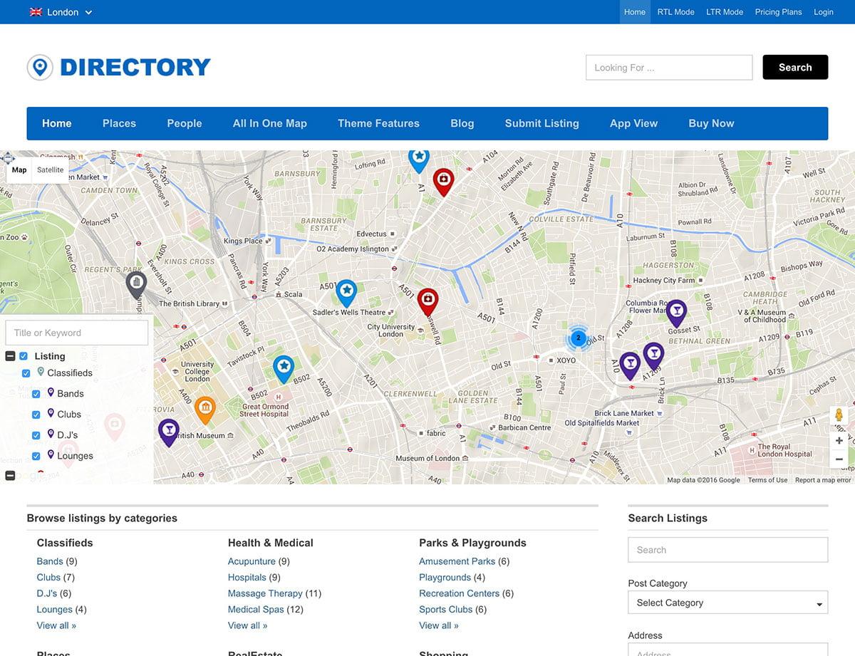Directory - 46+ Stunning WordPress Directory Themes [year]