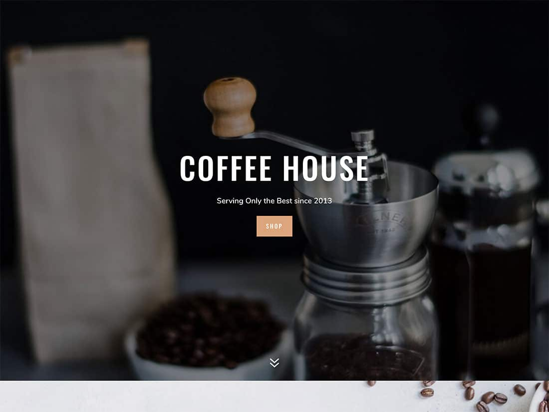 Divi-3 - 36+ Top Quality WordPress Themes For Coffee Shop [year]