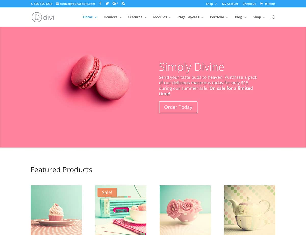 Divi - 36+ Top WordPress Themes For Ecommerce [year]