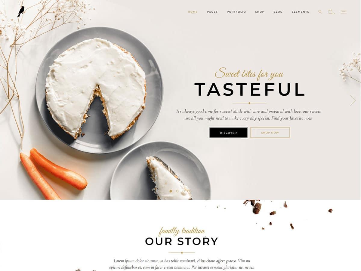 Dolcino-1 - 30+ Amazing Bakeries WordPress Themes [year]