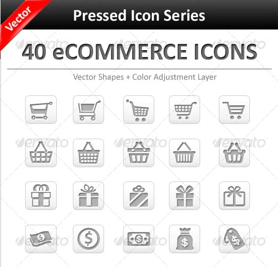 E-Commerce-Icon-Sets - 35+ Awesome Free E-Commerce Icon Sets [year]