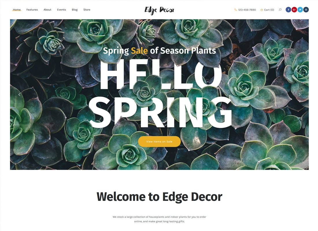 Edge-Decor - 36+ Top Quality WordPress Themes For Interior Design [year]
