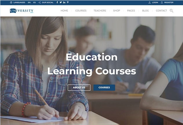 Education-Pack - 36+ Awesome WordPress Themes e-Learning [year]