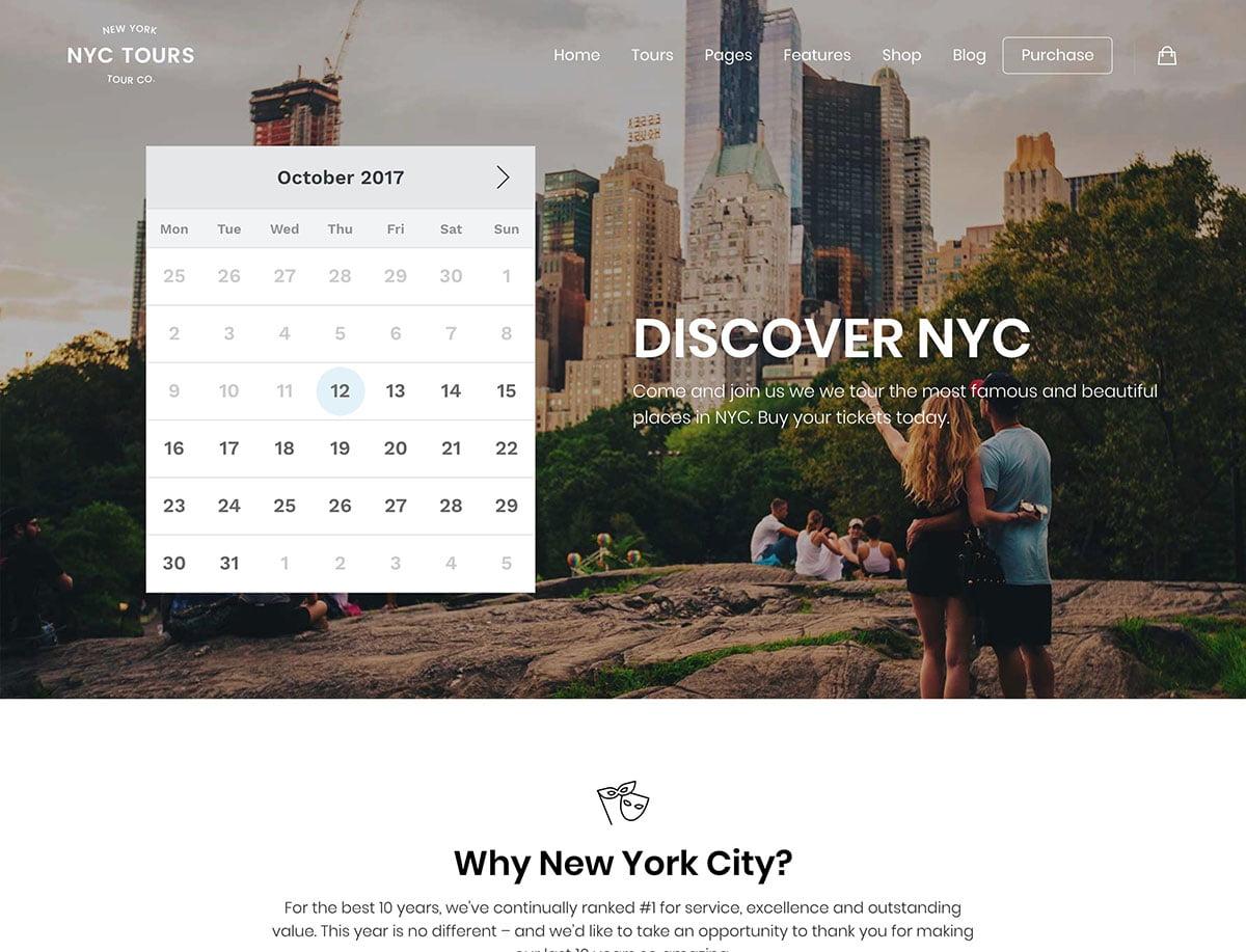 Embark - 36+ Amazing Travel, Agencies, Hotels WordPress Themes [year]