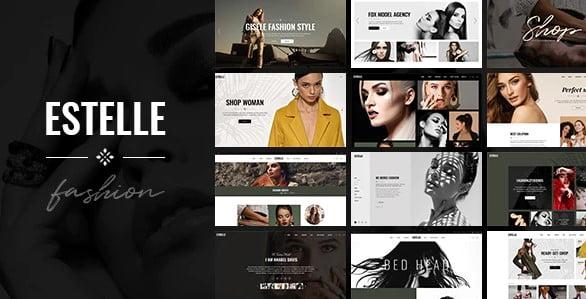 Estelle-1 - 36+ Nice WordPress Model Agency Themes [year]