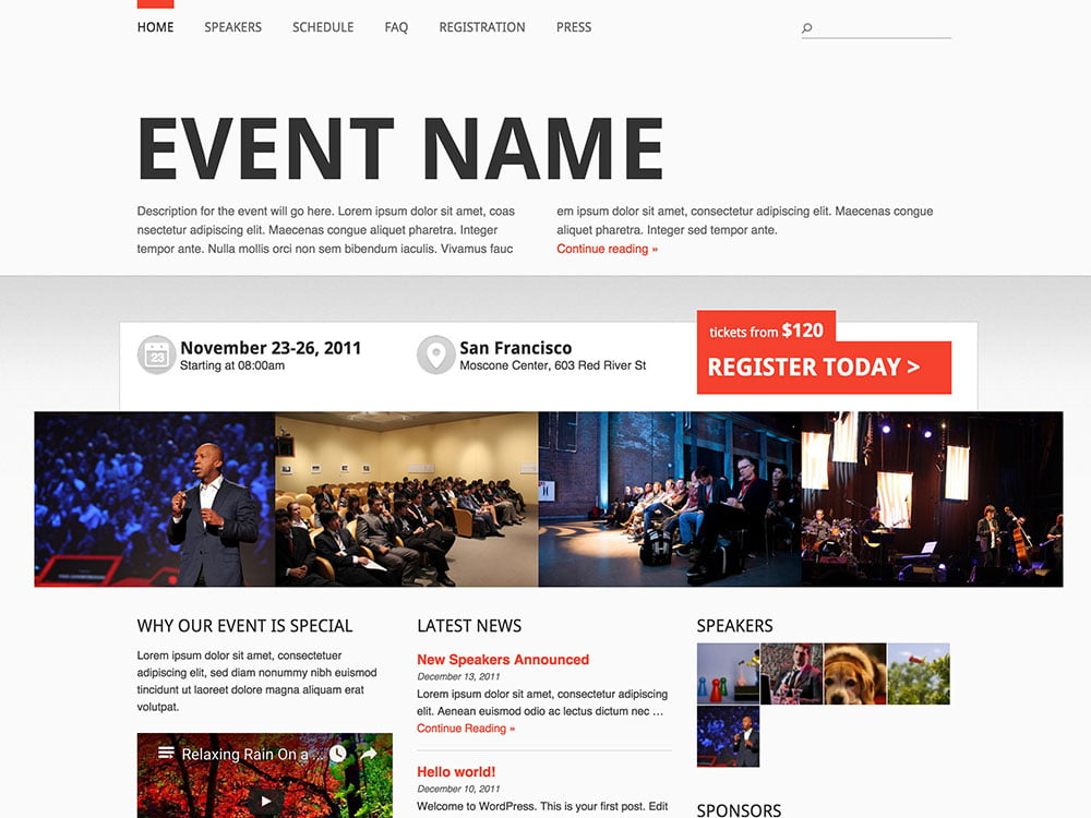 Event-Manager-Theme - 40+ Amazing WordPress Themes For Events [year]