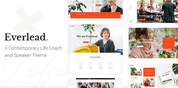 Everlead - 36+ Nice WordPress Themes For Coaching [year]