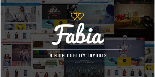 Fabia - 36+ Top Quality WordPress Themes For Coffee Shop [year]