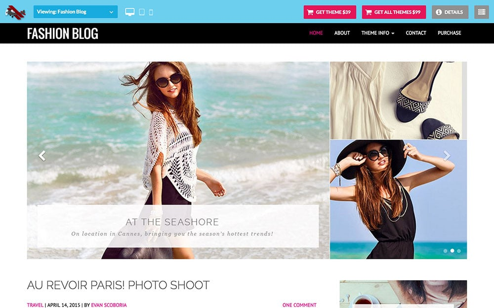 Fashion-Blog - 36+ Nice WordPress Themes For Fashion Blog [year]