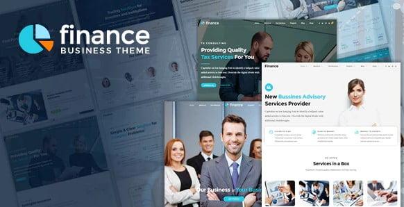 Finance - 36+ Amazing WordPress Insurance Themes [year]