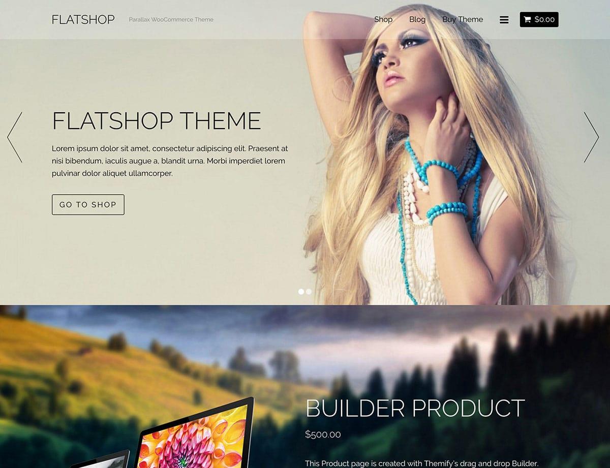 Flatshop - 36+ Top WordPress Themes For Ecommerce [year]