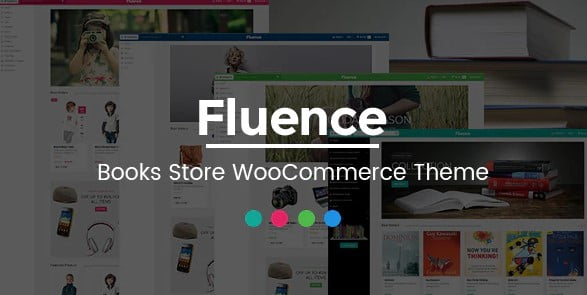 Fluence - 36+ Nice Bookstore WordPress Themes [year]