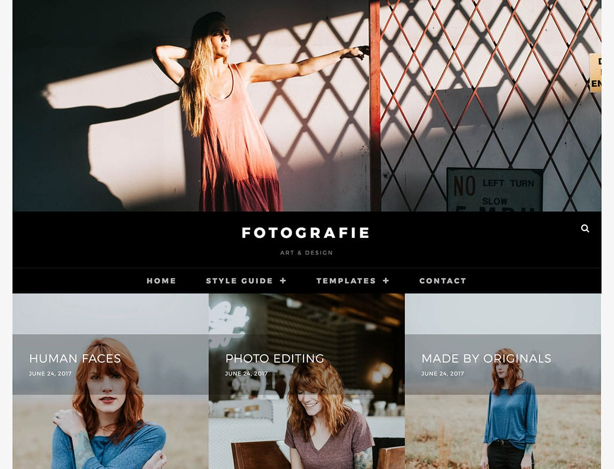 Fotographie - 51+ Nice Free WordPress Themes For Photography [year]