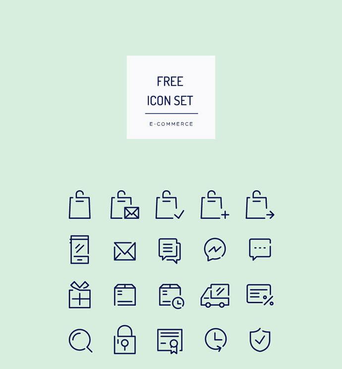 Free-E-Commerce-Icon-Set
