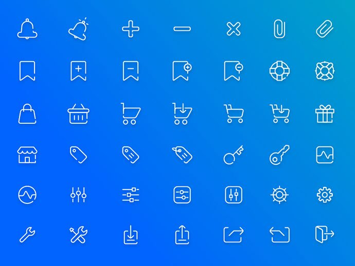 Free-Ecommerce-Icon-Pack-PSD-AI-Freebie - 35+ Awesome Free E-Commerce Icon Sets [year]