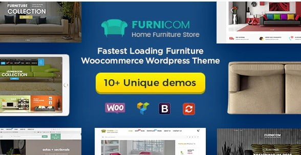 Furnicom - 30+ Top Quality WordPress Themes For Interior Design [year]