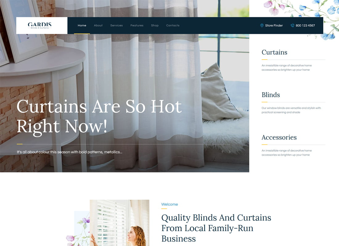 Gardis - 36+ Top Quality WordPress Themes For Interior Design [year]