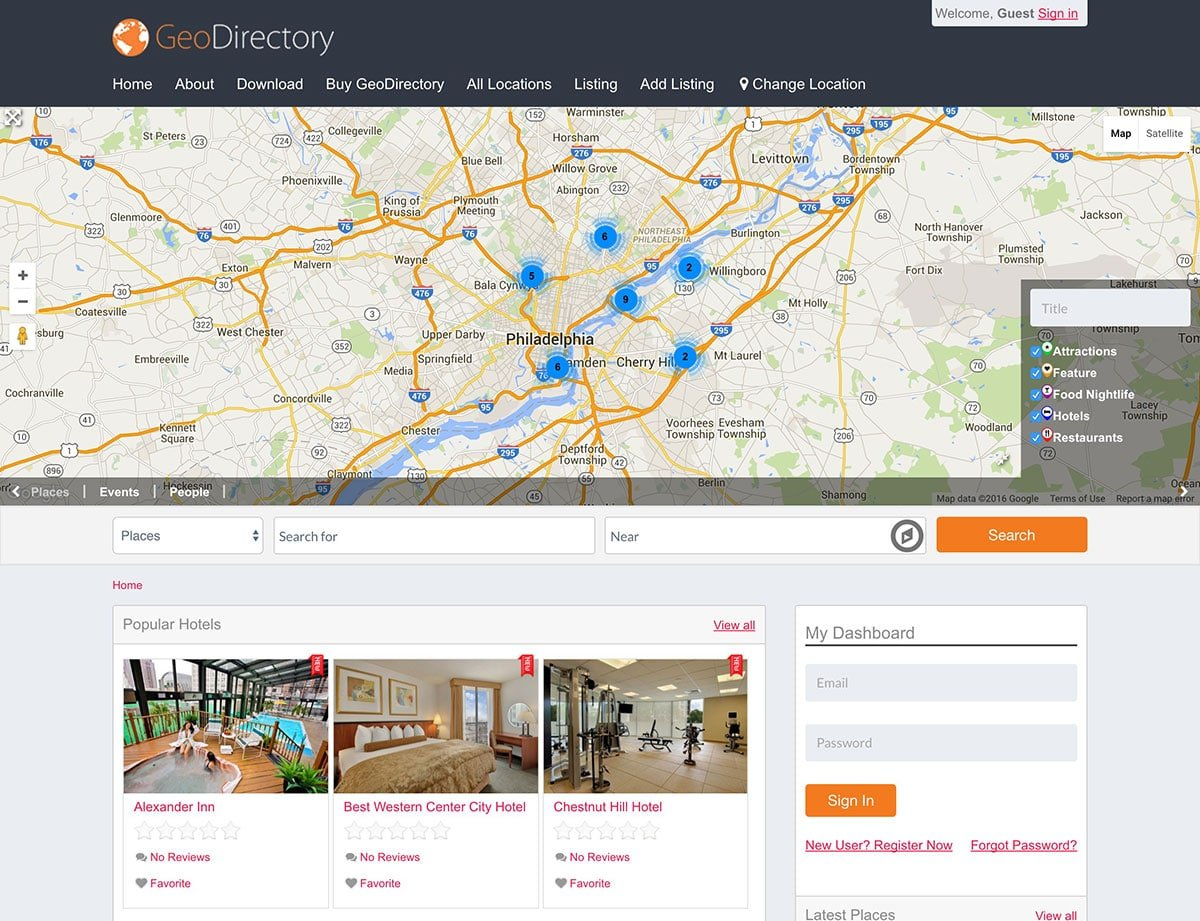 GeoDirectory - 46+ Stunning WordPress Directory Themes [year]