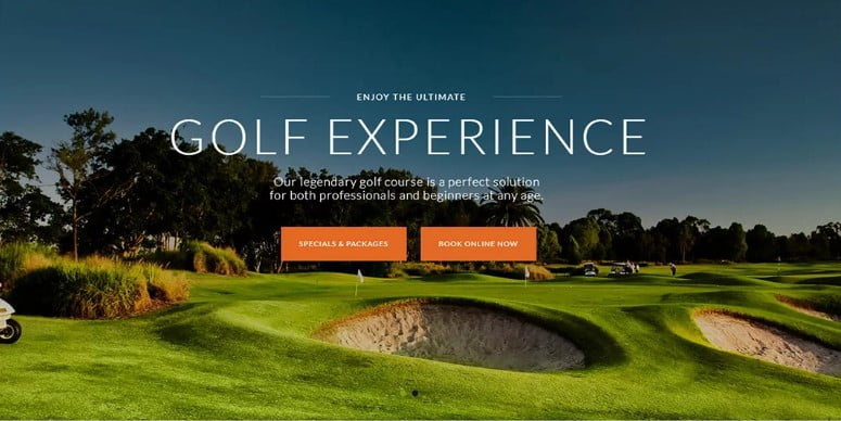 Golf-Club - 36+ Nice WordPress Golf Themes For Golf Clubs Websites [year]