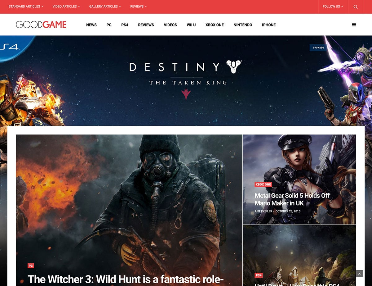 GoodLife-2 - 36+ Top Quality WordPress Gaming Themes [year]