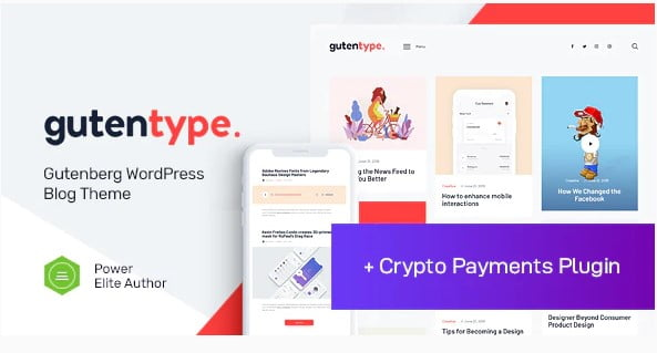 Gutentype - 30+ Top Quality WordPress Themes For Viral [year]