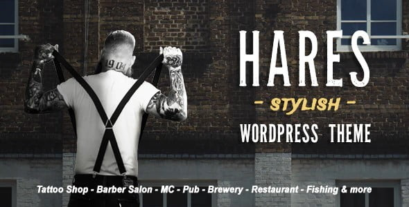 Hares - 35+ Nice Hunting and Weapon For WordPress Themes [year]