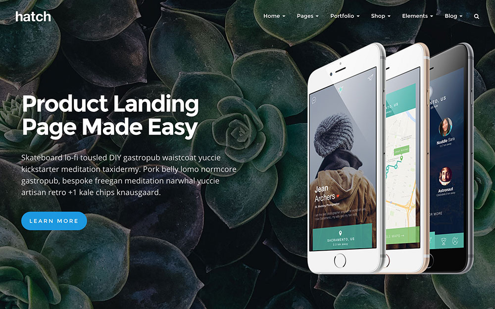 Hatch - 35+ Nice WordPress Themes For Multipurpose [year]