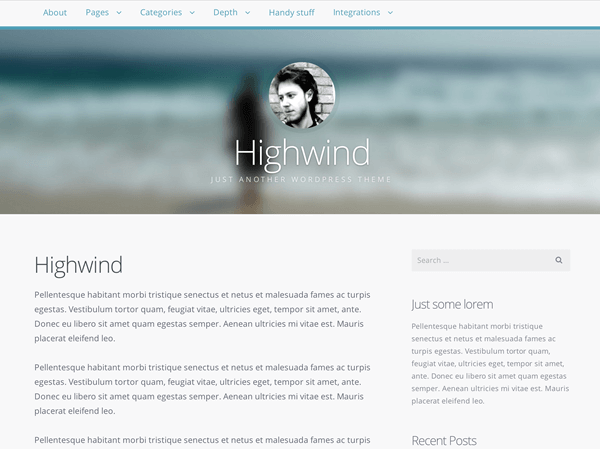 Highwind - 51+ Awesome Free WordPress Themes For Ecommerce [year]
