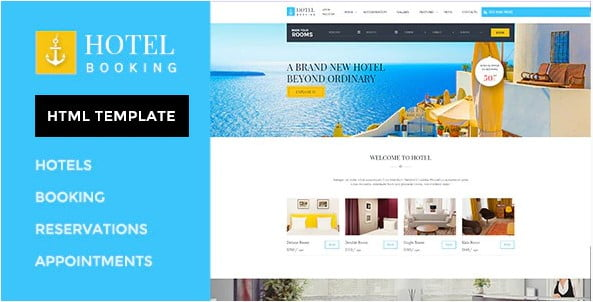 Hotel-Booking - 36+ Amazing Electricians WordPress Themes [year]